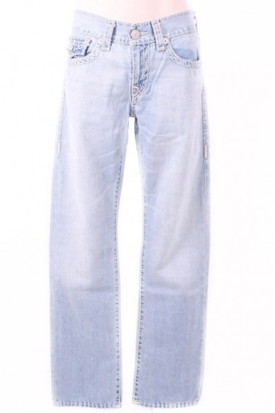True Religion - Ricky W/ Flap BXBL Rolling Ice Men's Jeans