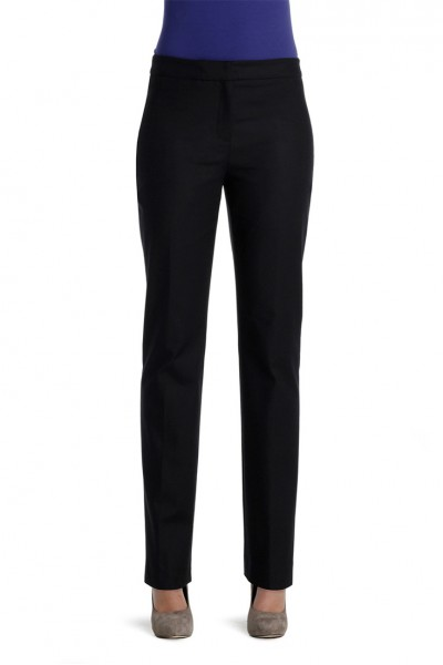 Nic+Zoe - Perfect Pant Front Zip - Black Onyx