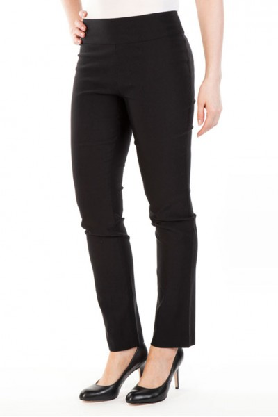 Nic+Zoe - Wonderstretch Pant - Black Onyx