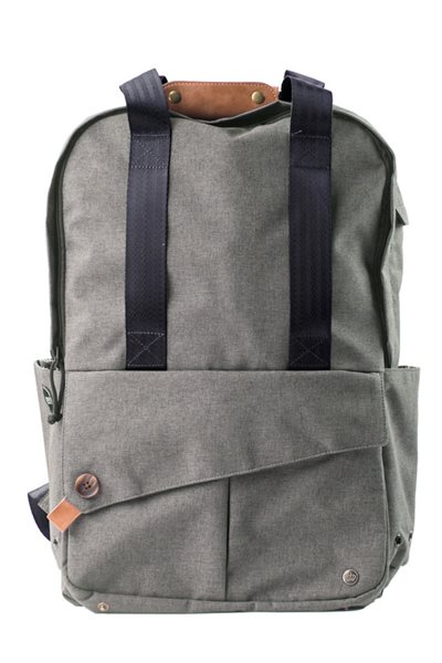 "PKG - LB08 15"" Laptop Bag Slim Tote Backpack"