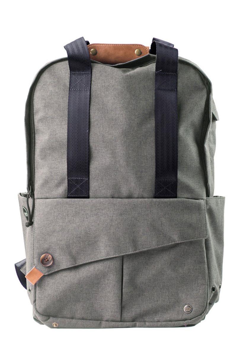"""PKG - LB08 15"""" Laptop Bag Slim Tote Backpack"""