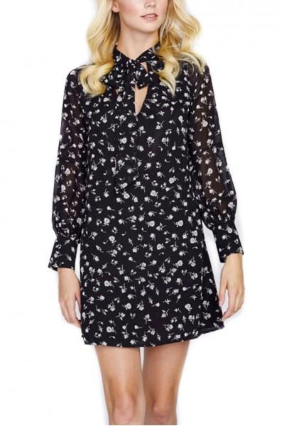 Wildfox - Fall Floral Adore Dress - Clean Black