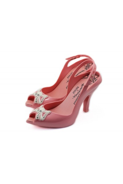 Melissa Black X Vivienne Westwood Lady Dragon High Heel Shoe - Pink