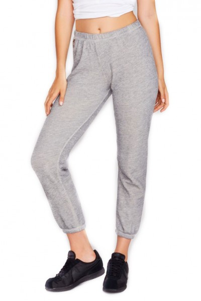Wildfox - Essentials Knox Pants - Heather Vanilla Latte