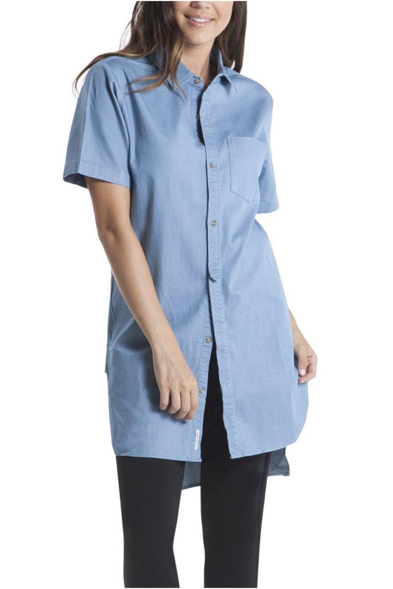 Publish Brand - Women's Sybil Shirt Dress - Light Blue