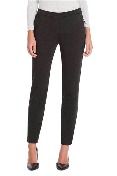 Nic + Zoe - Ponte Trouser Pant - Phantom Heather