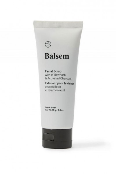Balsem - Charcoal Facial Scrub With Willowherb & Activated Charcoal