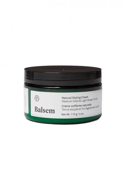Balsem - Natural Styling Cream Medium Hold & Light Sheen Finish