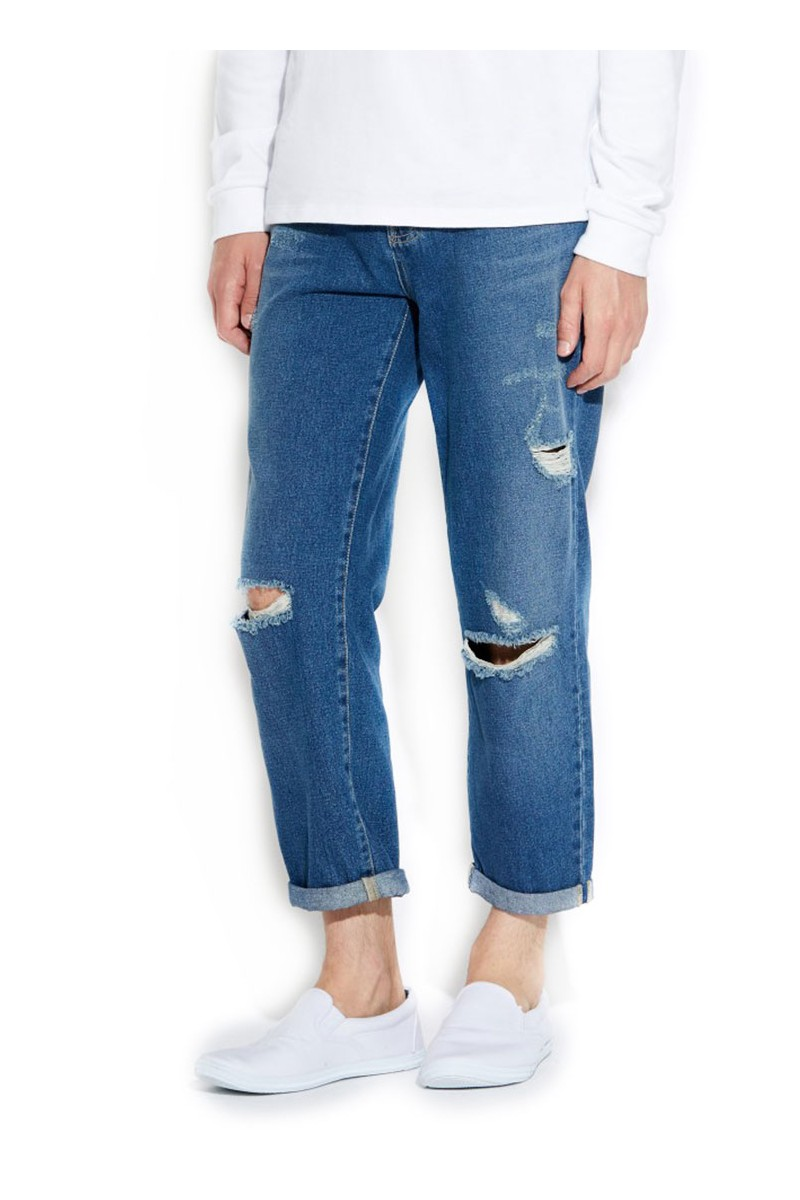 Waven - Mens Bjorn Loose Fit Jeans - Brand Blue