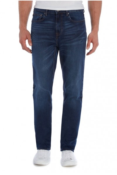 Waven - Mens Keld Slim Jeans - Worker Blue