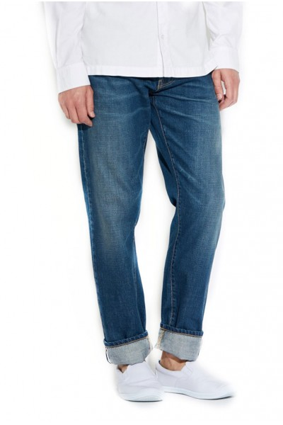 Waven - Mens Erik Regular Jeans - Kyoto Used Blue