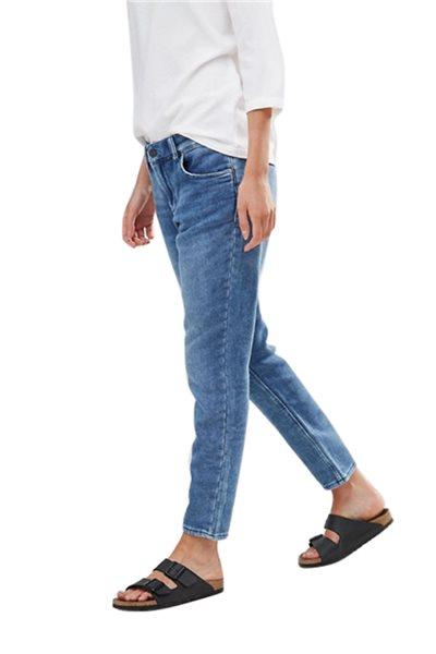 Waven - Womens Tor Jersey Boyfriend Jeans - Thame Blue