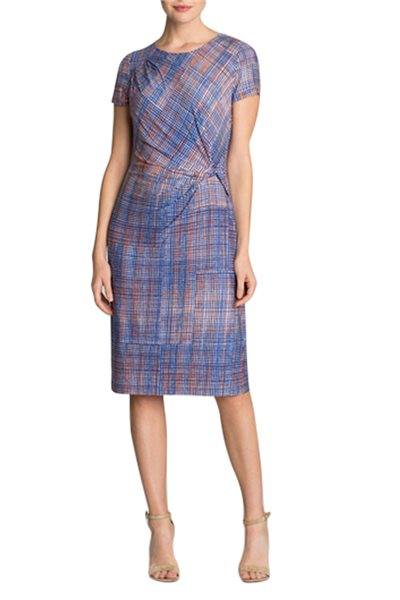 Nic + Zoe - Checked Out Dress - Multi