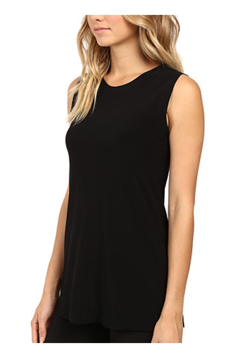 Norma kamali sleeveless swing top black - Norma kamali costumi da bagno ...