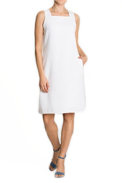 Nic + Zoe - West Coast Dress - Paper White