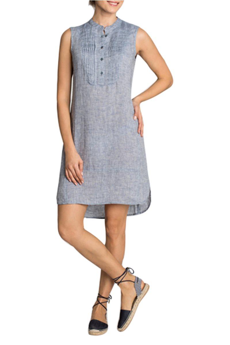 Nic + Zoe - Drifty Linen Tunic Dress