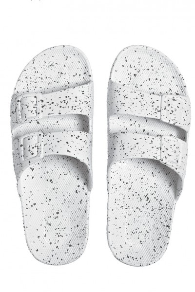 Moses - Freedom Sandals - White Splatter