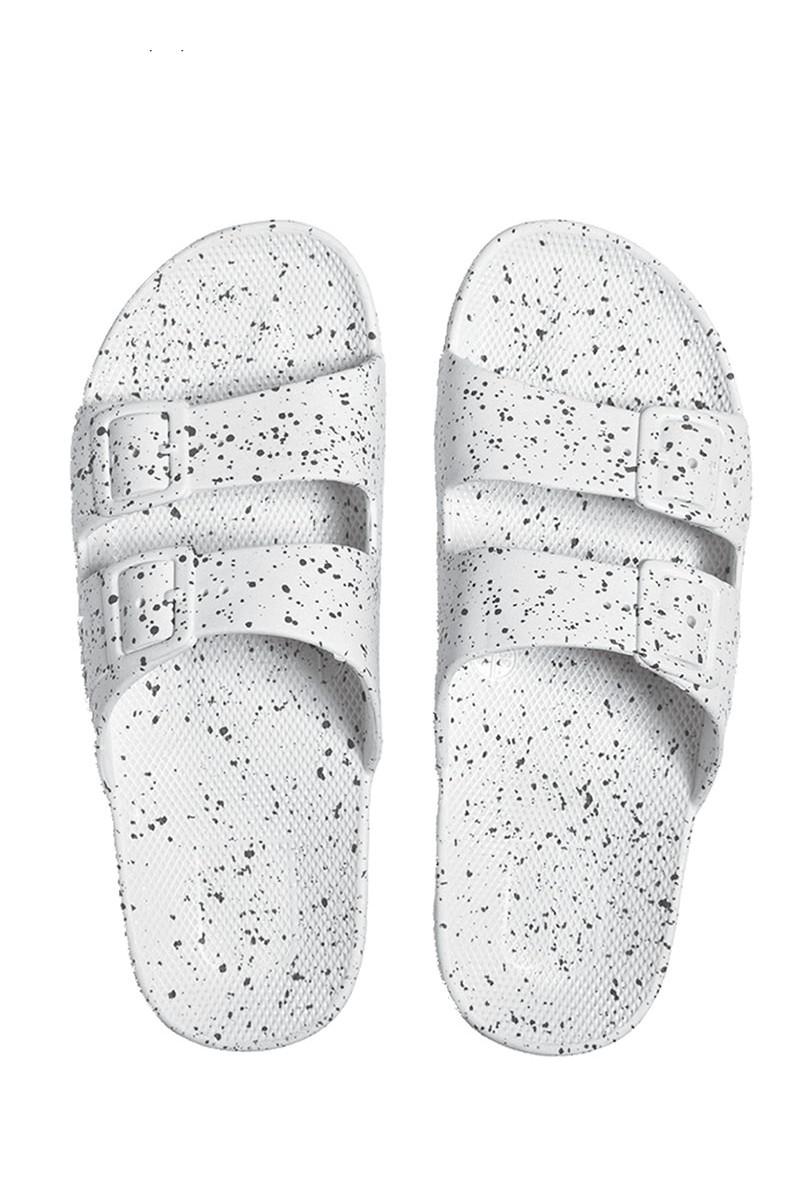 Moses - Freedom Sandals - White Splatter