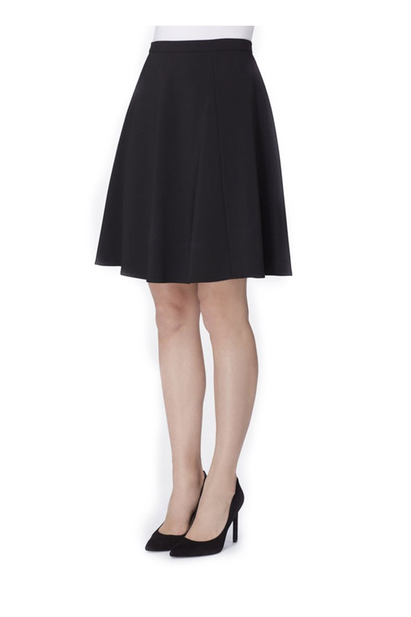 Tahari - Crepe Circle Skirt - Black