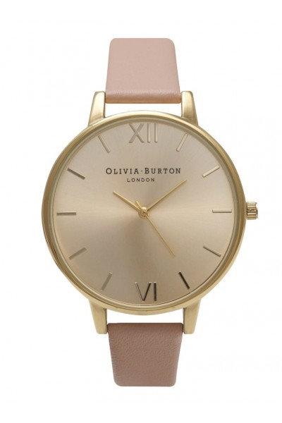 Olivia Burton - Big Dial - Dusty Pink and Gold  Watch