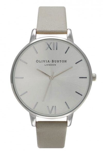 Olivia Burton - Big Dial - Grey and Silver Watch