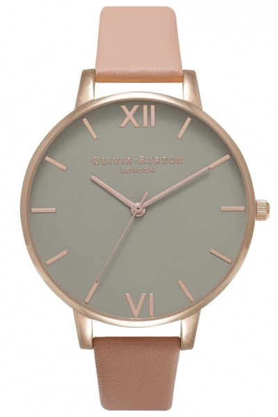 Olivia Burton - Grey Dial - Dusty Pink and Rose Gold  Watch