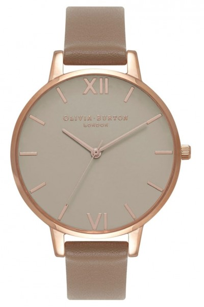Olivia Burton - Greige Dial - Taupe and Rose Gold  Watch