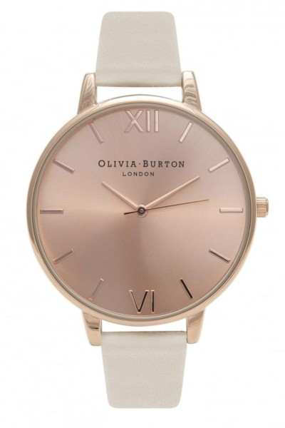 Olivia Burton - Vegan Friendly - Nude and Rose Gold Watch