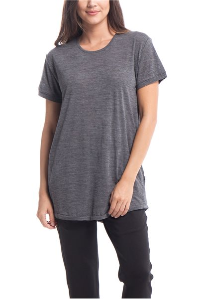 Publish Brand - Women's Etta Knit Top - Charcoal