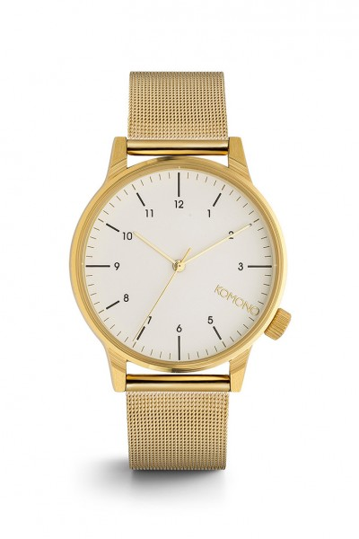 Komono - Winston Royale Watch - Gold White