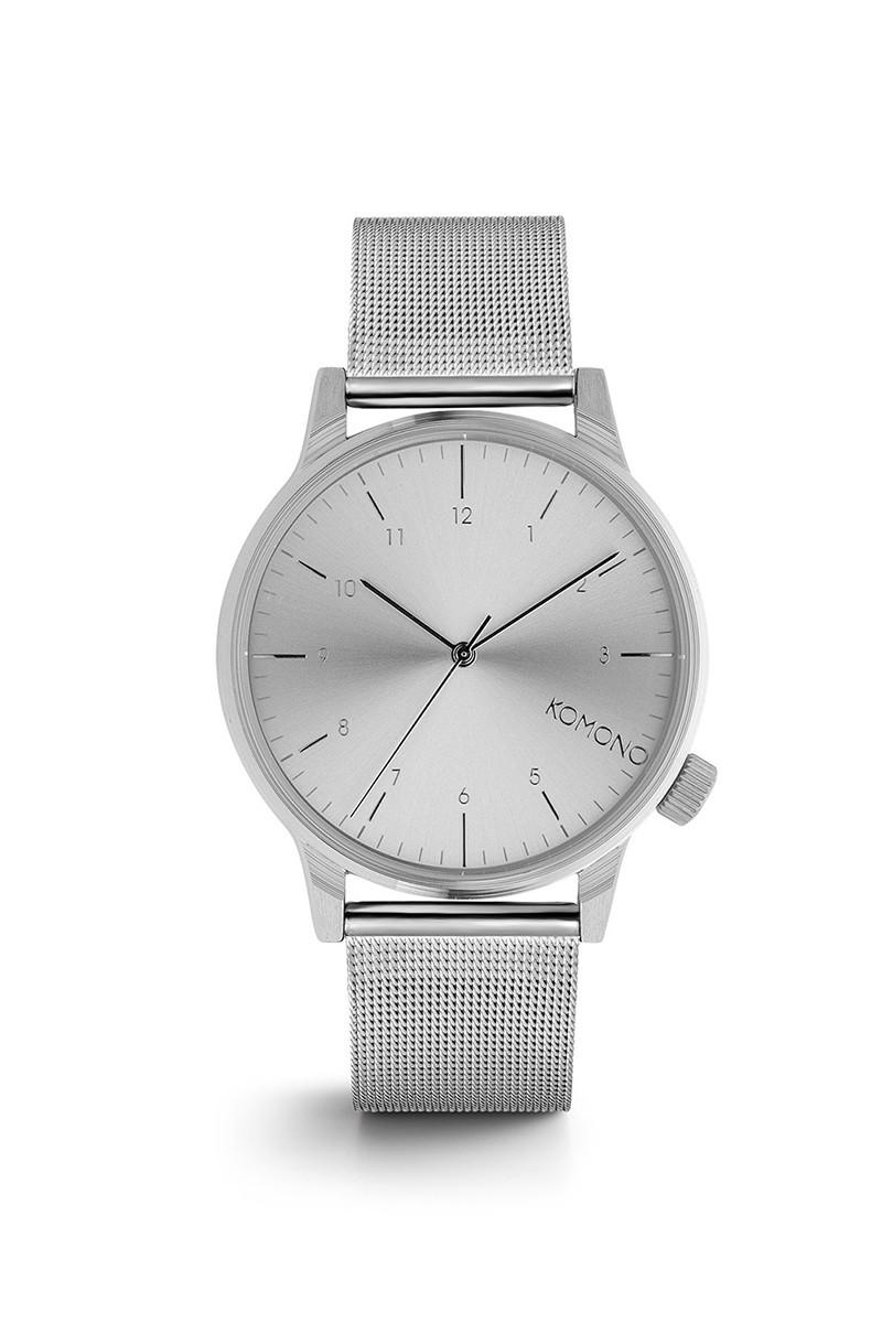 Komono - Winston Royale Watch - Silver