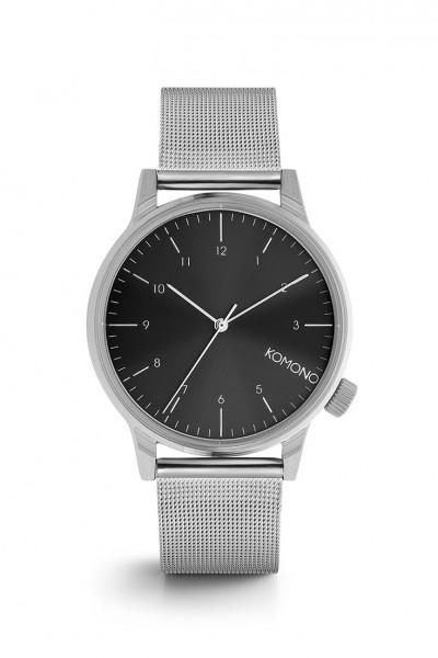 Komono - Winston Royale Watch - Silver Black