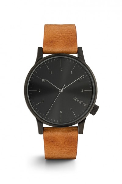 Komono - Winston Regal Watch - Cognac