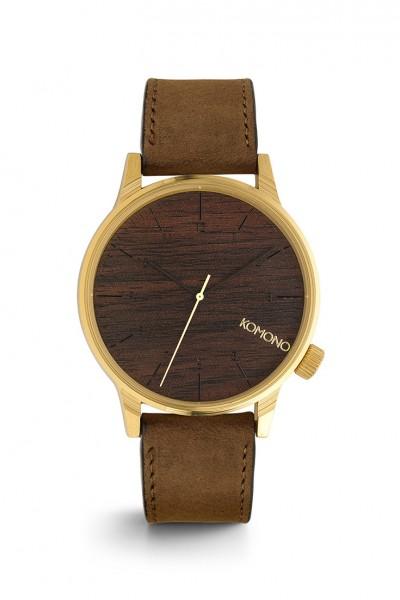 Komono - Winston Watch - Gold Wood