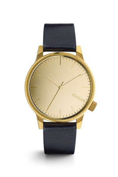 Komono - Winston Mirror Watch - Gold Navy