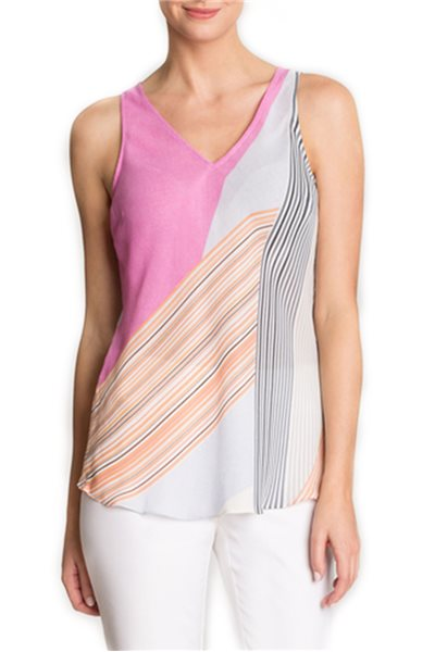 Nic + Zoe - All Angles Tank - Multi
