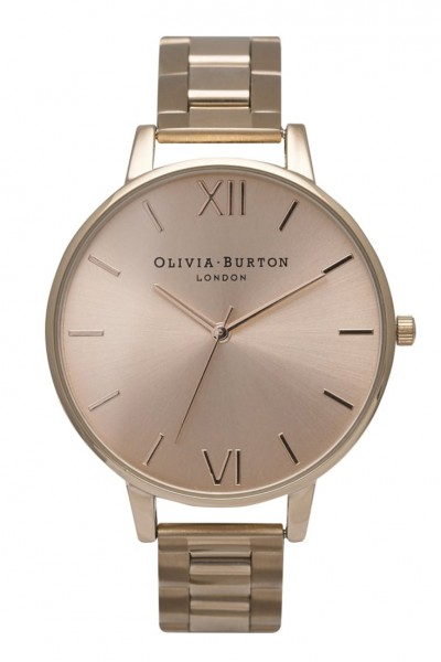 Olivia Burton - Big Deal Bracelet - Rose Gold Watch