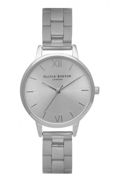 Olivia Burton - Midi Dial Bracelet - Silver Watch