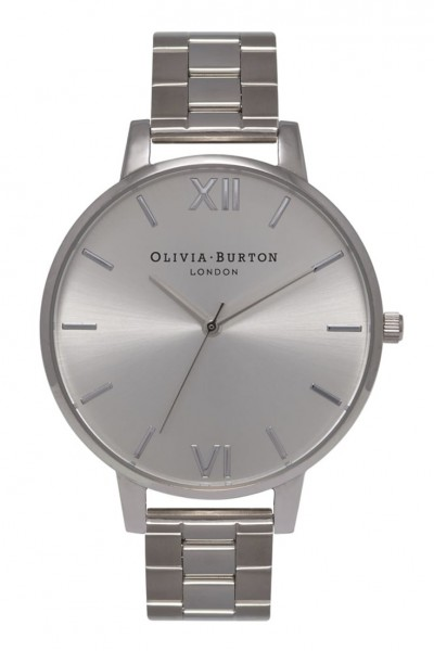 Olivia Burton - Big Deal Bracelet - Silver Watch