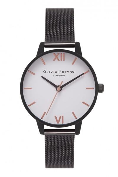 Olivia Burton - White Dial - White