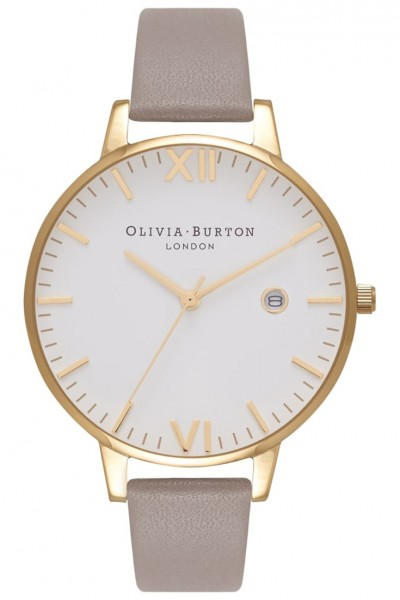 Olivia Burton - Timeless London - Grey & Gold Watch