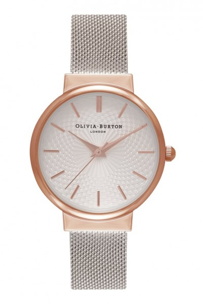 Olivia Burton - The Hackney - Rose Gold & Silver Watch