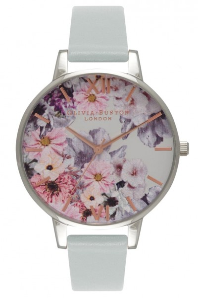 Olivia Burton - Vegan Friendly Enchanted Garden - Grey & Silver Watch