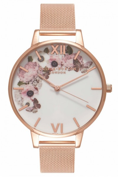 Olivia Burton - Winter Garden - Rose Gold Watch