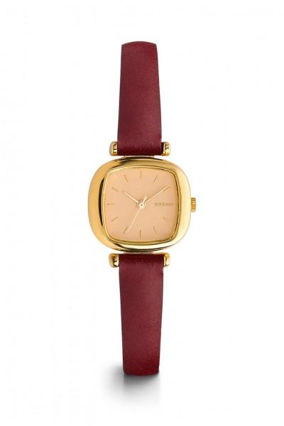 Komono - Moneypenny Watch - Gold - Peach