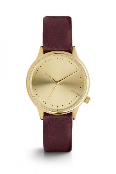 Komono - Estelle Watch - Burgundy