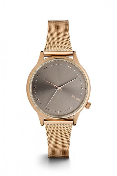 Komono - Estelle Royale Watch - Rose - Gold - Grey