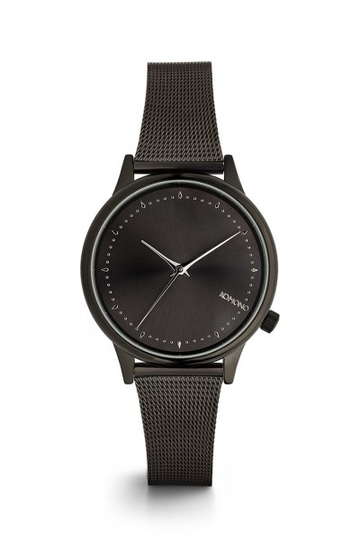 Komono - Estelle Royale Watch - Black - Silver