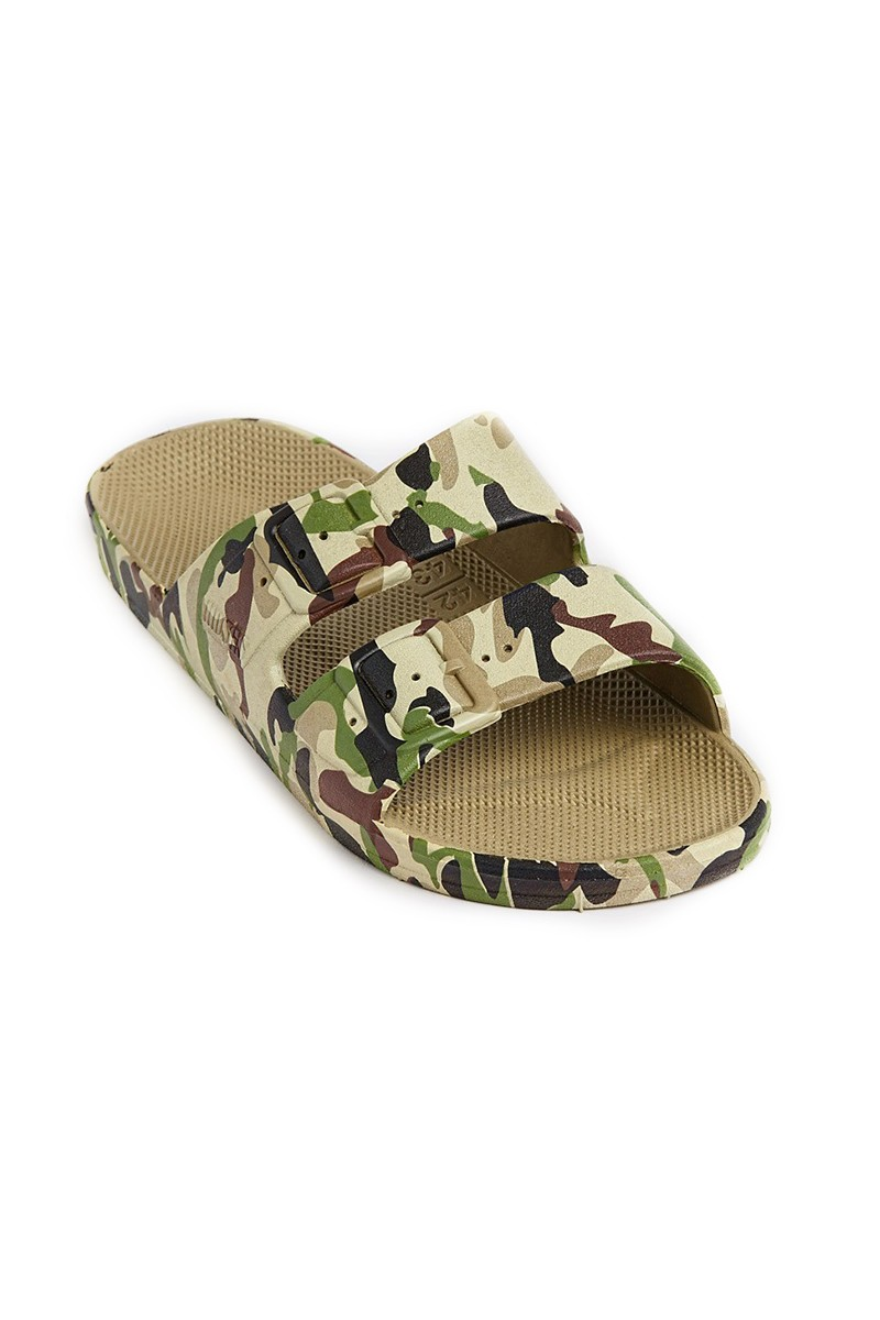Moses - Freedom Kid's Sandals - Army Khaki