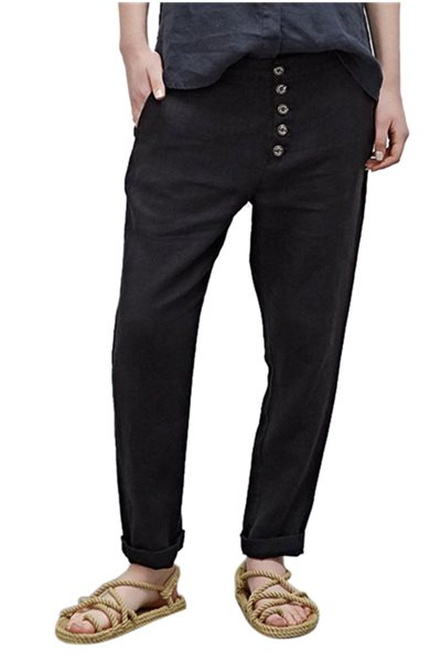 Sack's - Ilima Loss Pants - Black